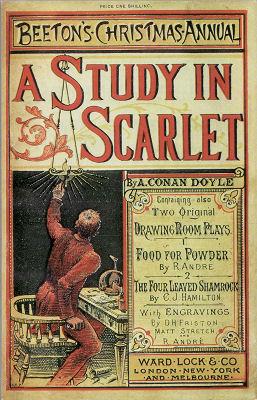 Arthur Conan Doyle -- A Study In Scarlet